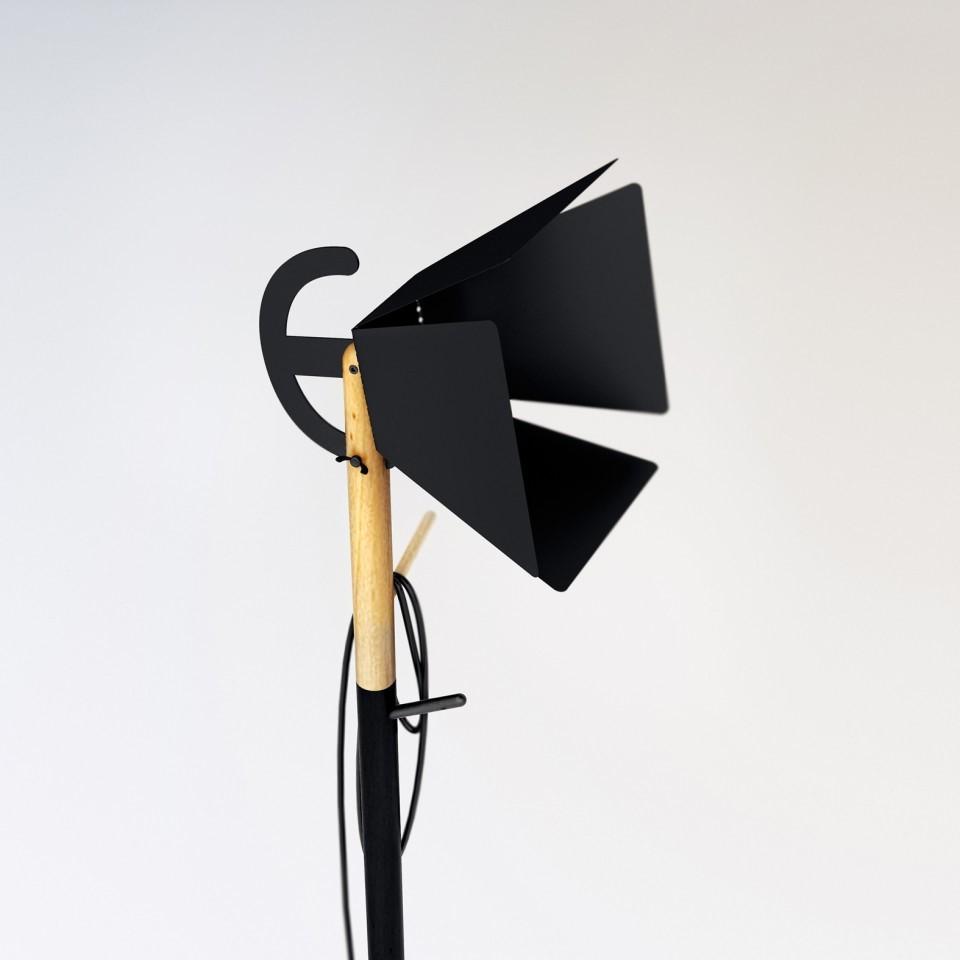 напольный светильник blackwork