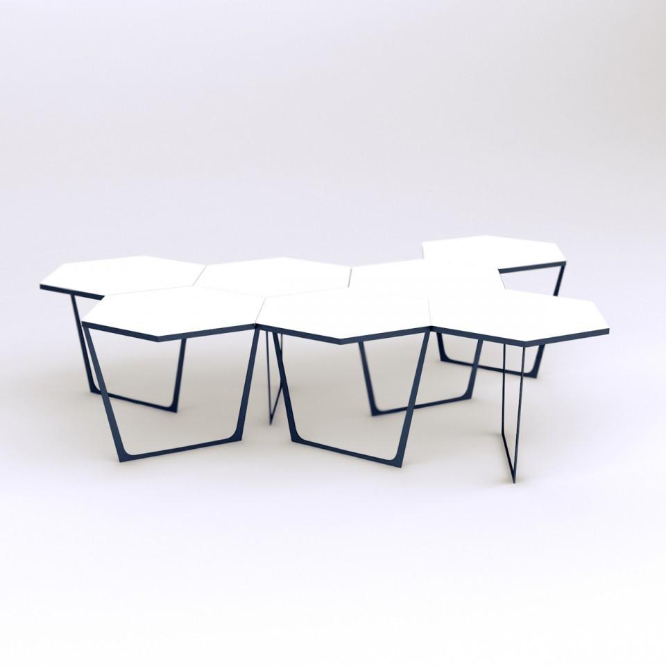 Tble B&W модульный журнальный стол
