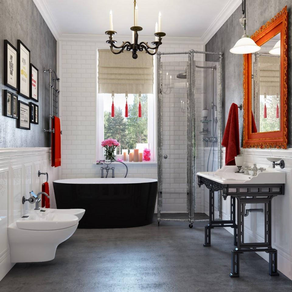 "дизайн проект ""ДОМ -Н"" ванная комната"