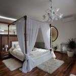 дизайн проект квартира с террасой , спальня