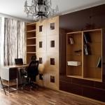 дизайн проект квартира с террасой , кабинет