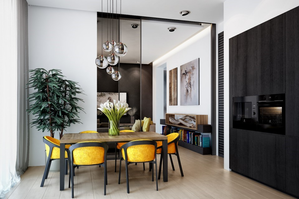 дизайн проект дома МЕЧТЫ , кухня