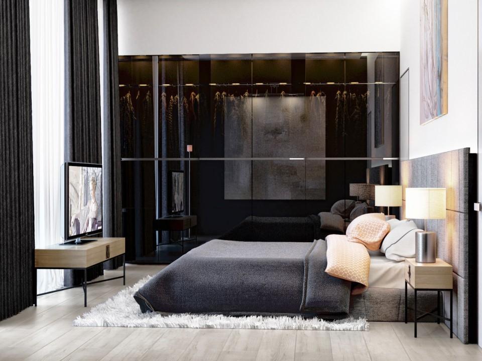дизайн проект дома МЕЧТЫ , спальня