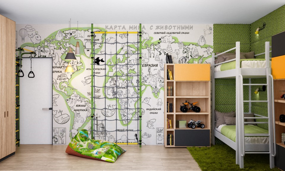 дизайн проект дома МЕЧТЫ , детская