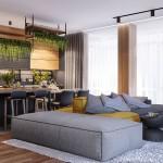 дизайн, проект, интерьер, квартира, ремонт, гостиная, кухня, современный, стильный, квартира для молодого парня, квартира холостяка, квартира для студента, молодежный интерьер, деревянный, темный