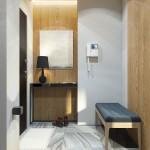 дизайн, проект, интерьер, холл, прихожая, современный, дизайн интерьера, перспектива