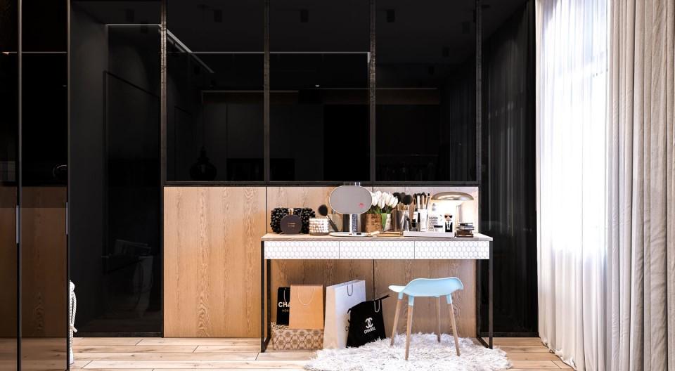 дизайн, проект, интерьер, квартира, ремонт, спальня, современный, стильный, квартира для молодой девушки, молодежный интерьер, деревянный, светлый