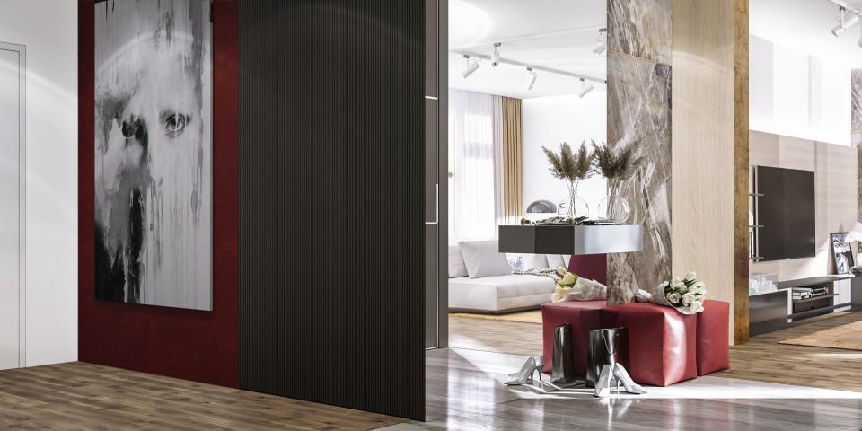 интерьер, дизайн, дизайн интерьера, проект, разработка, современный, современный интерьер, светлый, белый, квартира, загородный дом, частный дом, гостиная, кухня, столовая, холл