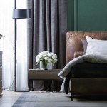 интерьер, дизайн, дизайн интерьера, проект, разработка, современный, современный интерьер, темный, зеленый, загородный дом, частный дом, спальня